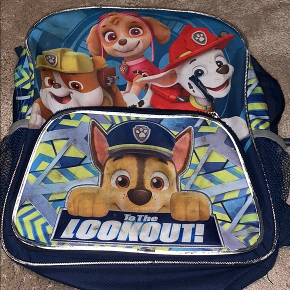 Other - Paw Patrol Backpack!
